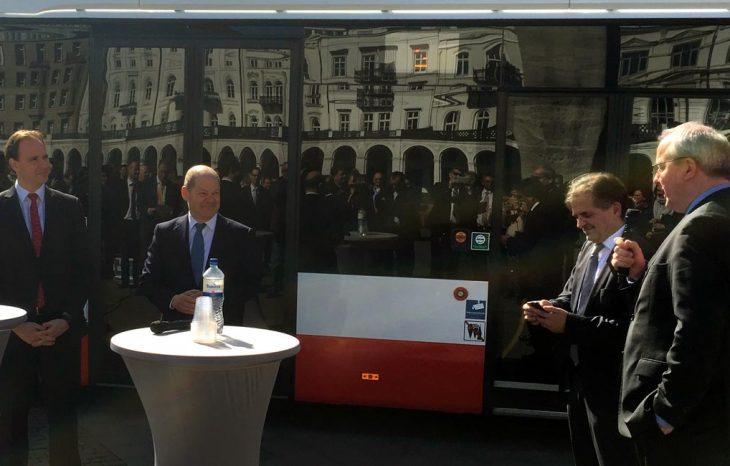 WLAN im Bus – Hochbahn Testbetrieb